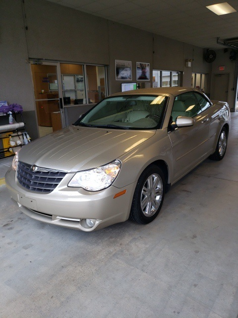 Pre Owned 2008 Chrysler Sebring Limited 2d Convertible In Mobile A25406t Infiniti Of