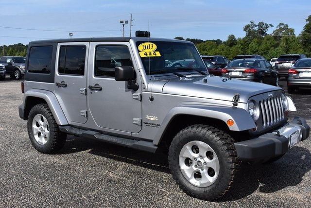 Beautiful Pre Owned 2013 Jeep Wrangler Unlimited Sahara